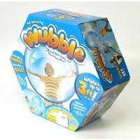 Мяч-жвачка Wubble Bubble Ball голубой c электронасосом
